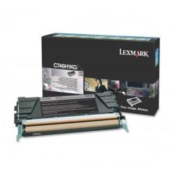 Lexmark Toner C746|C748 bk C746H3KG