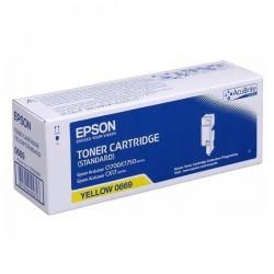 Epson oryginalny toner C13S050669, yellow, 700s, Epson Aculaser C1700, C1750, CX17 series