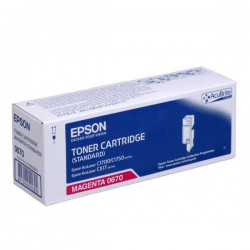 Epson oryginalny toner C13S050670, magenta, 700s, Epson Aculaser C1700, C1750, CX17 series