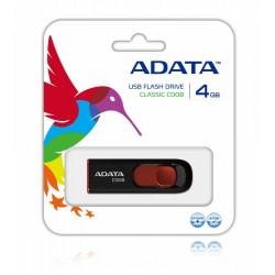 Adata DashDrive Classic C008 4GB USB2.0 czarnoczerwone