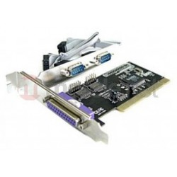 i-tec PCI Card 2x serial 1x parallel Moschip chipset