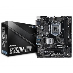 ASRock B360MHDV s1151 2DDR4 HDMI|DVI|DSUB|M.2 uATX