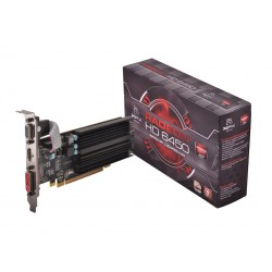 XFX Karta graficzna Radeon HD 6450 1GB DDR3 64-BIT Silent Low Profile (HDMI DVI VGA) Box
