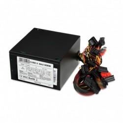 iBOX Zasilacz 600 W CUBE II APFC 12 CM BLACK