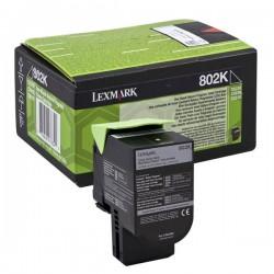 Lexmark oryginalny toner 80C20K0, black, 1000s, return, Lexmark CX310dn, CX310n, CX410de, CX410