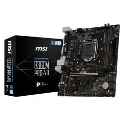 MSI Płyta główna B360M PROVD s1151 B360 2DDR4 DVI|VGA| M.2 UATX