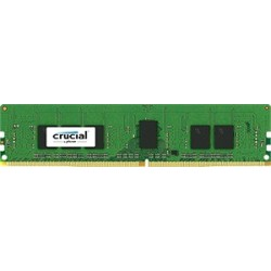 Crucial 16GB DDR4  2400 MT|s (PC419200) CL17 DR x8 ECC Registered DIMM 288pin