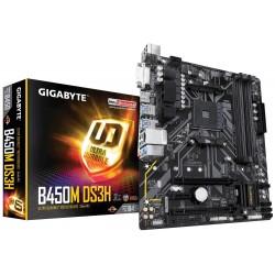 Gigabyte Płyta główna B450M DS3H AM4 B450 4DDR4 DVI|HDMI|M.2 uATX