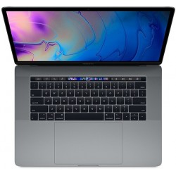 Apple Laptop MacBook Pro 15 Touch Bar, i7 2.6GHz 6core|32GB|512GB SSD|Radeon Pro 560X 4GB  Space Grey MR942ZE|A|R1