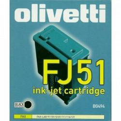 Olivetti oryginalny ink B0494, black, Olivetti FaxLab 101, 128, FJ51