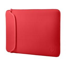 FUTERAŁ neoprenowy HP 15,6 laptopa Czarny/czerwony