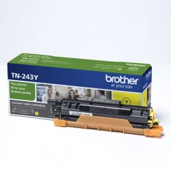 Brother oryginalny toner TN243Y, yellow, 1000s, Brother DCPL3500, MFCL3730, MFCL3740, MFCL3750