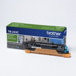 Brother oryginalny toner TN243C, cyan, 1000s, Brother DCPL3500, MFCL3730, MFCL3740, MFCL3750