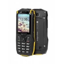 Kruger & Matz Telefon komórkowy Iron 2 32MB RAM 2,4 cali