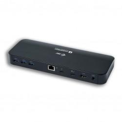 itec Stacja Dokująca Thunderbolt 3 Dual 4K  2x 4K|60Hz lub 1x 5K|60Hz 2x TB3 port PD 85W USBC do DisplayPort adapter