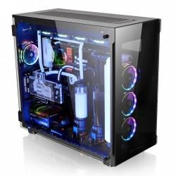 Thermaltake View 91 RGB Riing Tempered Glass XLATX Super Tower  Black