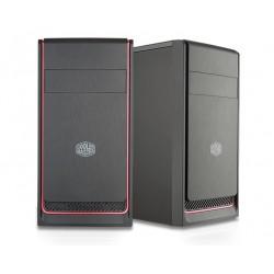 Cooler Master Obudowa MasterBox E300L czarnoczerwona (USB 3.0)