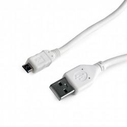 Gembird Kabel micro USB2.0 AMMBM5P|1.8m|biały