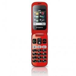 Emporia Telefon One V200 czarnoczerwony