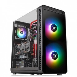 Thermaltake Obudowa View 37 ARGB GullWing Glass EATX  czarna