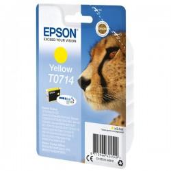 Epson oryginalny ink C13T07144022, yellow, blistr z ochroną, 5,5ml, Epson D78, DX4000, DX4050, DX5000, DX5050, DX6000, DX605