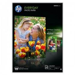 HP Everyday Glossy Photo P, foto papier, połysk, biały, A4, 200 g|m2, 25 szt., Q5451A, atrament