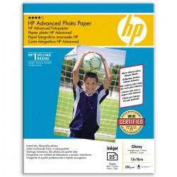 HP Advanced Glossy Photo Pa, foto papier, połysk, zaawansowany, biały, 13x18cm, 5x7, 250 g|m2, 25 szt., Q8696A, atrament,bez m