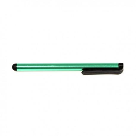 Pióro dotykowe, pojemnościowe, metal, ciemno zielony, do iPad i tableta