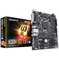 Gigabyte Płyta główna H310M DS2 2.0 s1151 2DDR4 DSUB|USB3.1 UATX