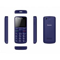 Panasonic Telefon komórkowy dla seniora KXTU110 niebieski