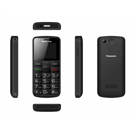 Panasonic Telefon komórkowy dla seniora KXTU110 czarny