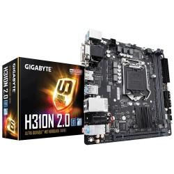 Gigabyte Płyta główna H310N 2.0 s1151 2DDR4 VGA|DVI|HDMI|USB3 M.2 mini ITX