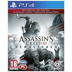UbiSoft Gra PS4 Assassins Creed 3 + Liberation Remaster