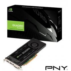 PNY NVIDIA Quadro K4000 3072MB PCI EXP VCQK4000PB