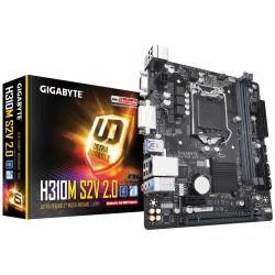 Gigabyte Płyta główna H310M S2V 2.0 S1151 2DDR4 DSUB|DVI|USB3 mATX