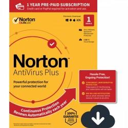 Symantec Norton Antivirus Plus 2GB PL 1 użytkownik, 1 urządzenie, 12 miesięcy 21394887