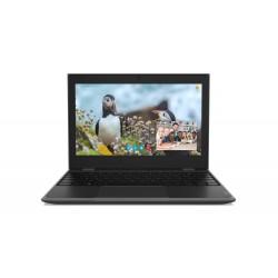 Lenovo Laptop 100e STF 81M80017PB W10Pro EDU Academic N4100|4GB|64GB|INT|11.6 HD|Black|1YR CI