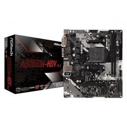 ASRock Płyta główna AB350MHDV R4 AM4 2DDR4 DSUB|DVI|HDMI mATX