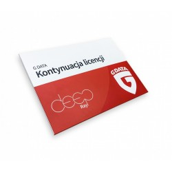 G DATA AntiVirus KONTYNUACJA 1PC 1ROK BOX