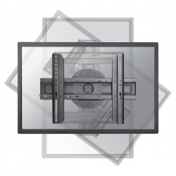 NewStar Uchwyt ścienny LFD LEDWR100BLACK z pivotem