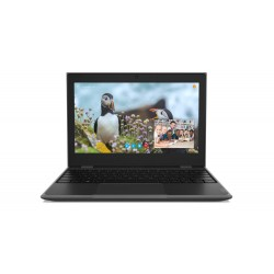 Lenovo Laptop 100e STF 81M8000LPB W10Pro EDU Academic N4000|4GB|64GB|INT|11.6 HD|Black|1YR CI
