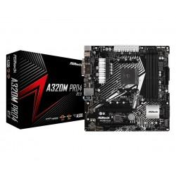 ASRock Płyta główna A320M PRO4 2.0 4DDR4 USB3|M.2|4SATA3 uATX