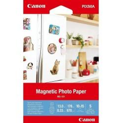 Canon Papier MG101 4x6 5 3634C002