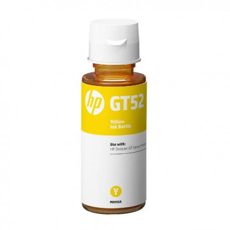 HP oryginalny ink bottle M0H56AE, HP GT52, yellow, 8000s, 70ml, HP DeskJet GT serie, Cronos