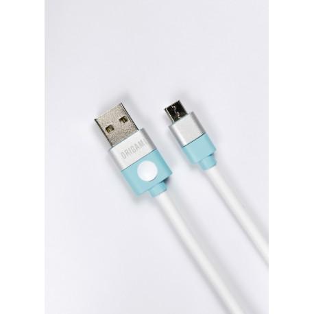 Lark Kabel USB do Micro USB Origami 3m biały