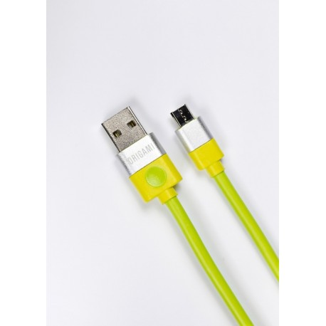 Lark Kabel USB do Micro USB Origami 3m zielony