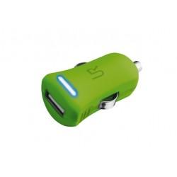 Trust UrbanRevolt 5W Car Charger  lime green