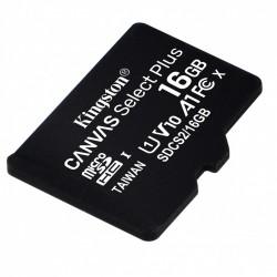 Kingston Karta pamięci microSD  16GB Canvas Select Plus 100MB s