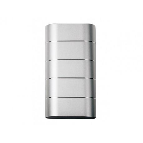 Verbatim Power Bank 10000mAh 2x USB + 1x micro USB srebrny