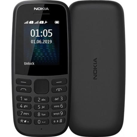 Nokia Telefon 105 2019 Dual Sim Black
